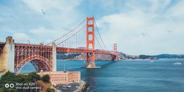 带上X20全面屏去旅行,游走旧金山,感受阳光下的惬意