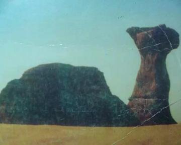 乍得首都恩贾梅纳寄来的明信片