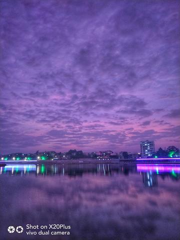 【X20Plus拍摄样张】冬日黄昏,美好彩霞