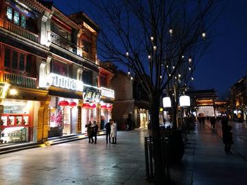 北京之夜色阑珊