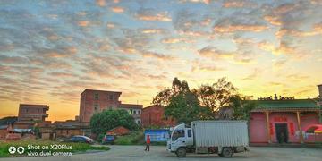 【摄影达人·X20Plus】冬季乡村的清晨