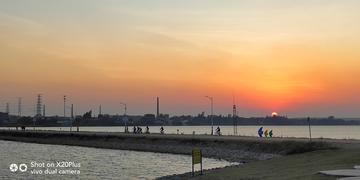 【摄影达人·X20Plus】湖边暮色