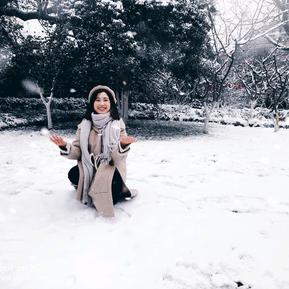 初雪,遇见杭州