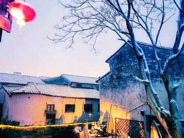 【摄影达人·X20Plus】雪夜山塘