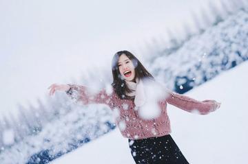 【摄影教程】这样的雪景美人照,你说美不美