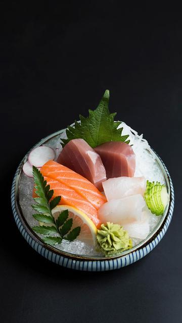 美味生鱼片