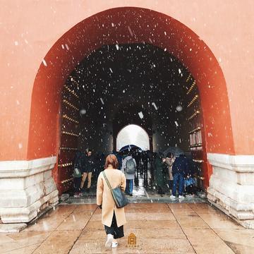 【风叔说】雪后的故宫