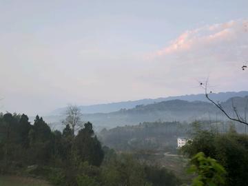 乡村有春季的早晨