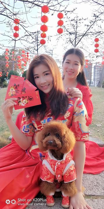 【X20Plus】新年红:姐妹花