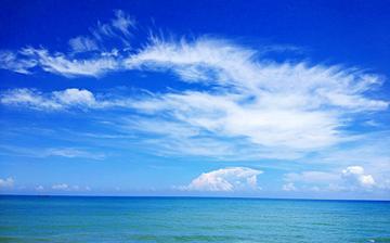 三亚的海天云