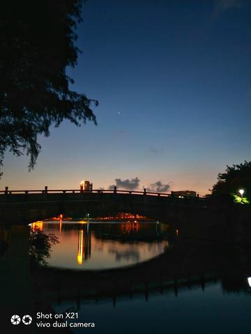 【X21样张】河畔醉夜
