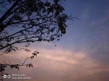 【X21】早上和下午的蓝天