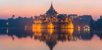 缅甸之旅—小勐拉维加斯实拍风景