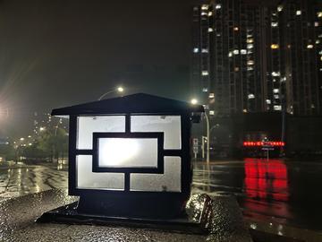 vivo NEX双屏版一组雨夜夜景拍摄,看看喜不喜欢