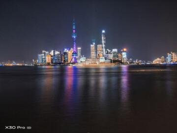 #X50追星计划#魔都城市夜上海