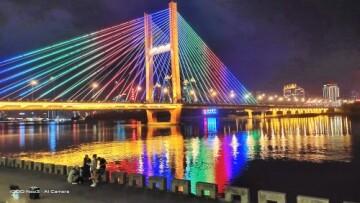 #S7e超级夜景#灯光璀璨的吉林市