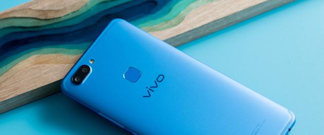 【X20图赏】vivo X20活力蓝全面屏手机,看海天一色