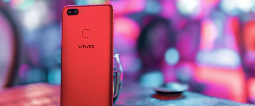 【X20图赏】X20全面屏手机星耀红版,灯光下梦幻般的美