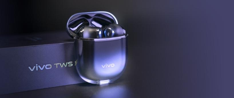 美学新高度,颜料双在线的vivo真无线蓝牙耳机